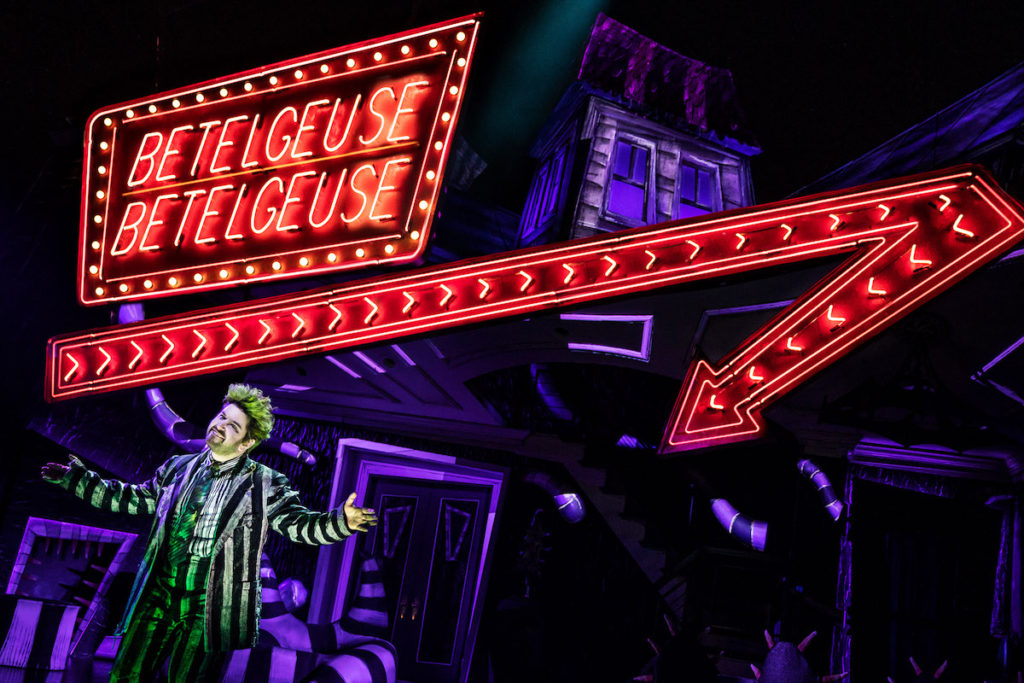 Beetlejuice These Ghosts Are Gonna Live Forever New York Stage Review